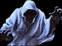 Unexplained Australia - Dark Hooded Figures